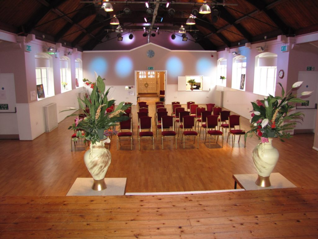 Venue Space Hire - Large Hall