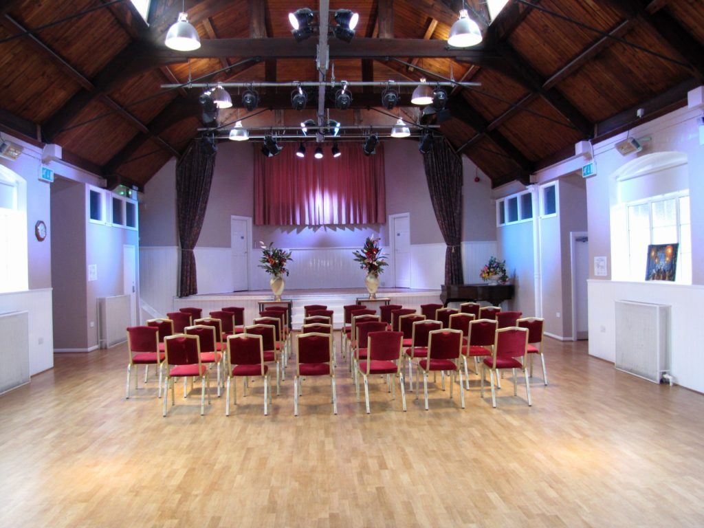Venue Space Hire - our main hall for hire