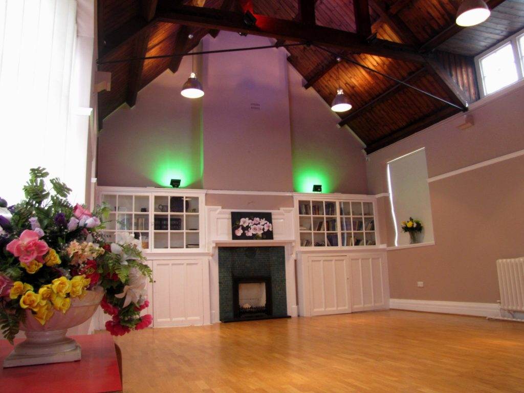 Venue Space Hire - Upper hall for hire